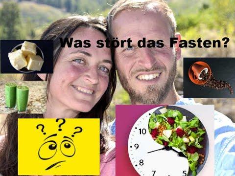 Was stoppt, stört oder unterbricht das Fasten beim Intervallfasten (= intermittierendes Fasten)?