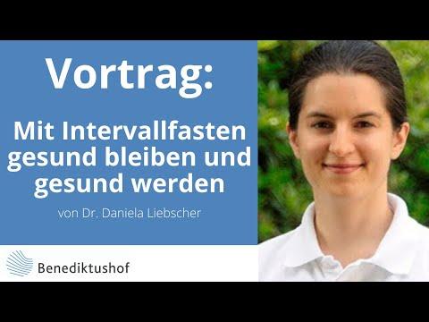 """""""Mit Intervallfasten gesund bleiben und gesund werden"""" von Dr. Daniela Liebscher am Benediktushof"""