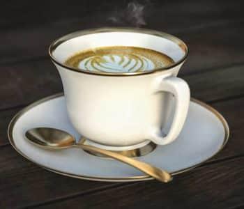 Kaffee, Bulletcoffee und Butterkaffee beim Intervallfasten, eine Tasse Kaffee