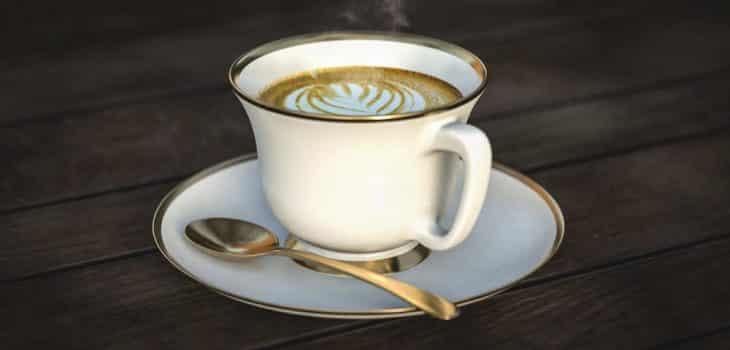 Bulletcoffee und Butterkaffee beim Intervallfasten, eine Tasse Kaffee