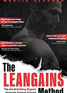 the Leangains Method Cover vom Buchtitel