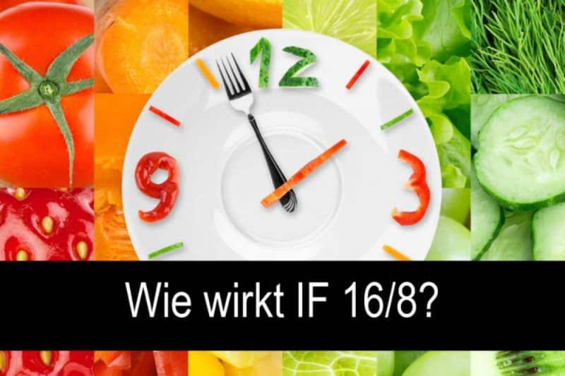 wie wirkt intermittierendes fasten: Vorteile Intervallfasten: Teller mit Uhr und buntem Gemüse
